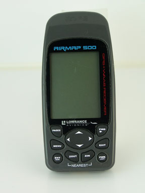 The AirMap 500 was an iFinder series product with the aviation software and database