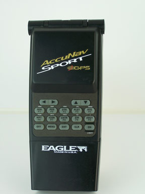 I designed our first handheld GPS - Eagle Accunav Sport 5 Parallel Channel GPS